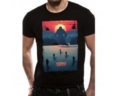 Skull Island KONG - POSTER T-Shirt