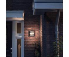 Philips myGarden Lámpara de pared LED Petronia 1x12 W gris 1739493P0