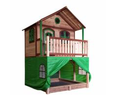 AXI Carpa para casa de juegos plástico verde A030.186.00