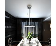 vidaXL Lámpara de techo colgante, LED, 6X2W, redonda