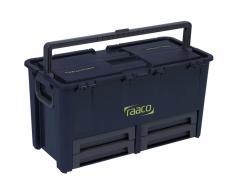 Raaco Caja de herramientas 10 compartimentos Compact 62 136624