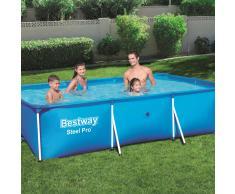 Bestway Piscina Steel Pro con estructura de acero 300x201x66cm 56404
