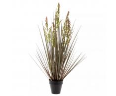 Emerald Planta artificial Rumex verde y marrón 90 cm 418160