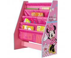 Disney Estantería de Minnie Mouse 51x23x60 cm rosa WORL222007