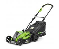 Greenworks Cortacésped sin batería de 40 V GD40LM45 2500407