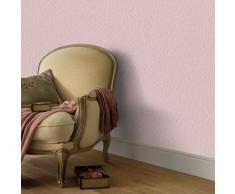 vidaXL Rollos de papel pintado no tejido 4 uds rosa brillante liso