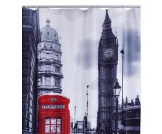 RIDDER Cortina de ducha London poliéster 180x200 cm