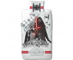 Disney Juego funda de edredón Star Wars 200x140 cm blanco DEKB930119