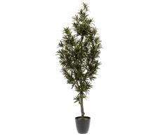 Emerald Planta podocarpus artificial verde 120 cm 420295