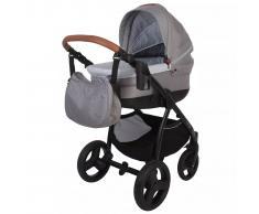 Bo Jungle Silla/Coche de bebé 4 en 1 B-Zen gris claro B700505
