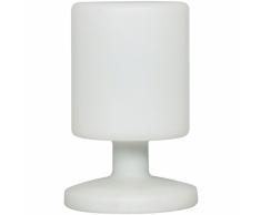 SMARTWARES Lámpara de mesa exterior LED 5 W blanca 5000.472