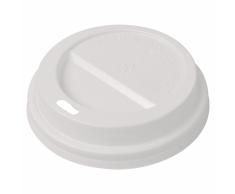 vidaXL Tapa para vaso desechable de café 1000 unidades plástico 80 mm