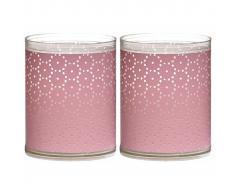 Bolsius Velas Sparkle 6 unidades encaje rosa 103622390540