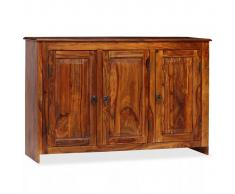 vidaXL Aparador de madera maciza de sheesham 115x35x75 cm