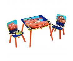 Disney Set 3 piezas mesa y sillas Cars WORL320021