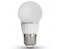 Luxform Bombillas LED regulables, E27 230V 5W G50 2700K EWW 4 unidades