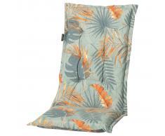 Madison Outdoor Cojín silla respaldo alto Dotan 123x50cm azul naranja
