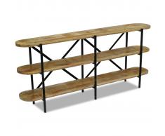 vidaXL Aparador de madera mango 180x30x76 cm