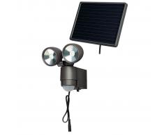 Brennenstuhl Foco solar LED SOL 2x4 antracita 4 W 1170930