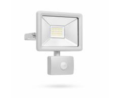 SMARTWARES Foco LED de seguridad con sensor 20 W gris SL1-DOB20