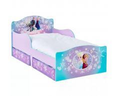 Disney Cama infantil de lujo con 2 cajones Frozen 140x70 cm WORL234023
