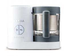 Beaba Robot de cocina para bebés 4 en 1 Babycook Neo gris blanco 400W