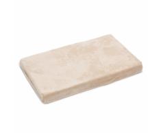 Beeztees Cama para perro espuma viscoelástica beige 70x45x6 cm 707031