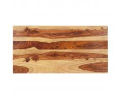 vidaXL Superficie de mesa madera maciza de sheesham 15-16 mm 60x100 cm
