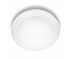 Philips Lámpara de techo LED myLiving Cinnabar blanca 4x4 W 333623117