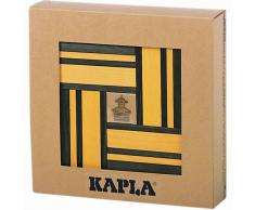 Kapla Set de 40 tablones madera verde y amarillo KAPL172105