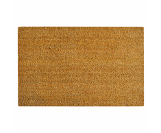 vidaXL Felpudo de fibra coco 17 mm 80x100 cm