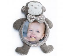 Bo Jungle B-Car & Home Espejo de coche para bebé Mono Tambo B390130