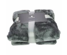 Gusta Manta de lana 150x125 cm metálica gris oscuro 04125160