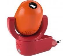 HABA Lámpara noche proyector enchufado Star Sprite rojo naranja 302916