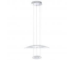EGLO Lámpara colgante de techo, LED Lemos 93008
