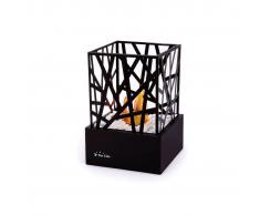 PURLINE Biochimenea de sobremesa para uso interior o exterior con diseño moder