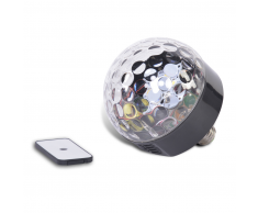 Party Fun Lights Altavoz Disco Bluetooth, bombillas LED y mando Light