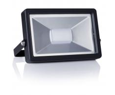 Smartwares Foco LED 20 W negro FL1-B20B