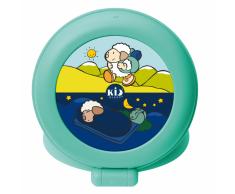 Claessens'Kids Temporizador para dormir Kid'Sleep Globetrotter verde