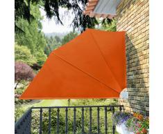 vidaXL Toldo lateral plegable para el patio, 160 x 240 cm, terracota