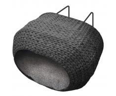 Ebi Cama de mascota radiador Sunrise 45x30x30 cm negra 435/430576