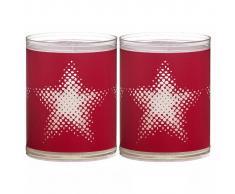 Bolsius Velas Sparkle 2 unidades estrella roja 103622390541