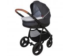 Bo Jungle Silla/Coche de bebé 4 en 1 B-Zen gris oscuro B700535