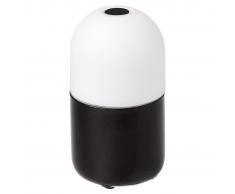 SMOOZ Bean lámpara de mesa/de noche negra con LED 4506231
