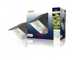 Ranex Lámpara solar de pared con sensor PIR 0,5 W negra 5000.261