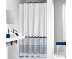 Sealskin cortina de ducha 180 cm modelo Marrakech 235281324 (Azul)