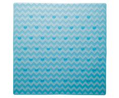 Sealskin Alfombrilla de seguridad baño Leisure 53x53 cm azul 315242624