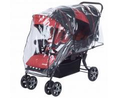 Safety 1st Cochecito doble de bebé Teamy rojo 1151668000