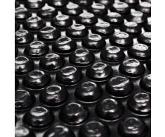 vidaXL Película Negra Rectangular De Polietileno Flotante Piscina 10X5 M