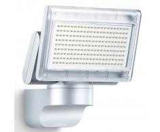 Steinel Foco con Sensor para el exterior, XLED Hogar 1S, color plata